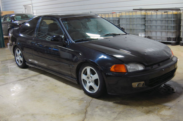 1994 honda civic ex coupe street tuner project car for sale in gurnee illinois united states. Black Bedroom Furniture Sets. Home Design Ideas