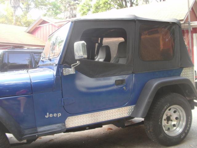 1994 jeep wrangler s sport utility 2 door 2 5l rust free for sale in jacksonville florida. Black Bedroom Furniture Sets. Home Design Ideas