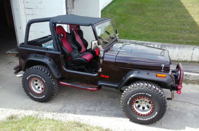 1994 JEEP WRANGLER YJ / 355 SBC V8 / 5 SPEED for sale in Shelby ...