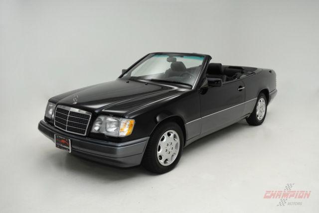 1994 mercedes benz e class e 320 6 741 miles black for Mercedes benz e class 320