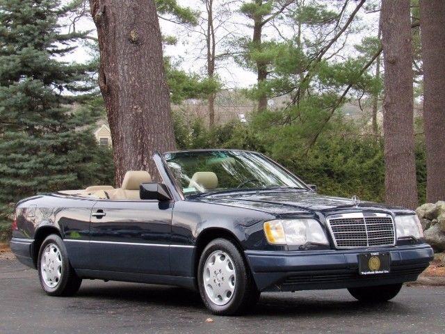 1994 mercedes benz e320 cabriolet beautiful midnight blue for Mercedes benz e320 1994