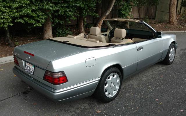 1994 mercedes benz e320 cabriolet excellent condition for Mercedes benz e320 1994