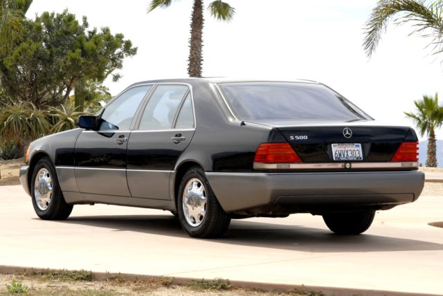 1994 mercedes benz s500 mint 42k miles like new black on for 1994 mercedes benz s500