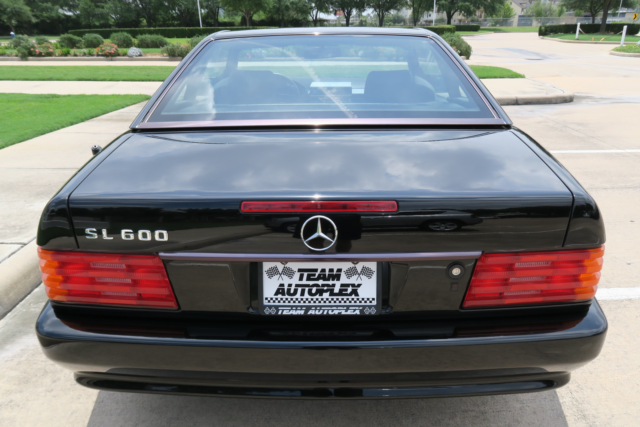 1994 mercedes benz sl600 extremely clean fresh service for Mercedes benz tires cost
