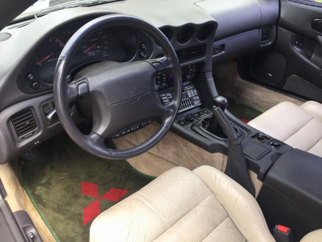 1994 Mitsubishi 3000GT VR-4 Twin Turbo, AWD, 60K Miles! Rare Color, Videos!