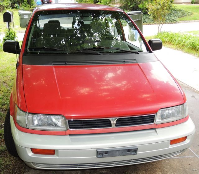 Cargurus Car Value: 1994 MITSUBISHI EXPO BASE 4-DOOR MINIVAN 5 SPEED STICK