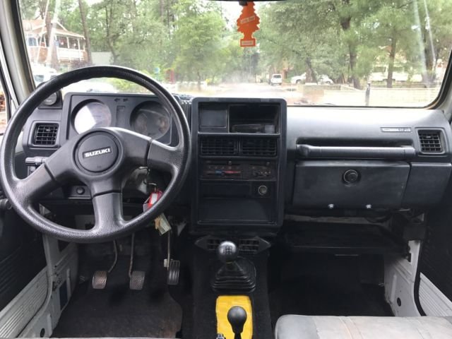1994 Suzuki Samurai 4x4 4wd For Sale Photos Technical