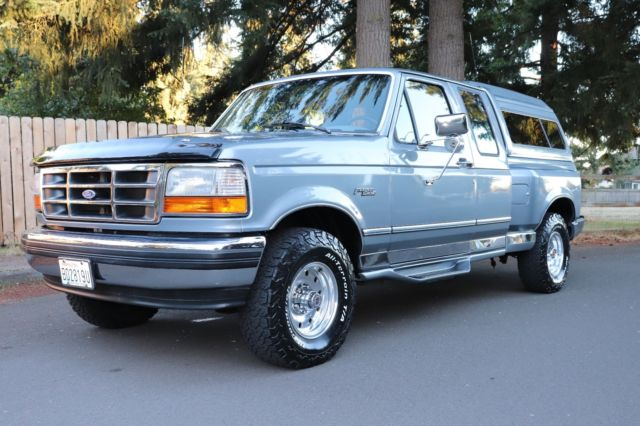 Ford F Flareside Extended Cab X Xlt Low Miles Obs on 1995 Ford F 150 5 0 Engine