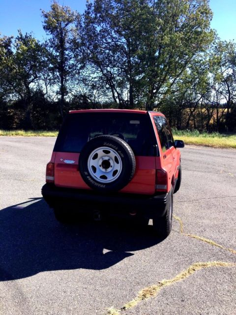 1995 Geo Tracker 4x4 Hard Top Automatic 2 Door For Sale