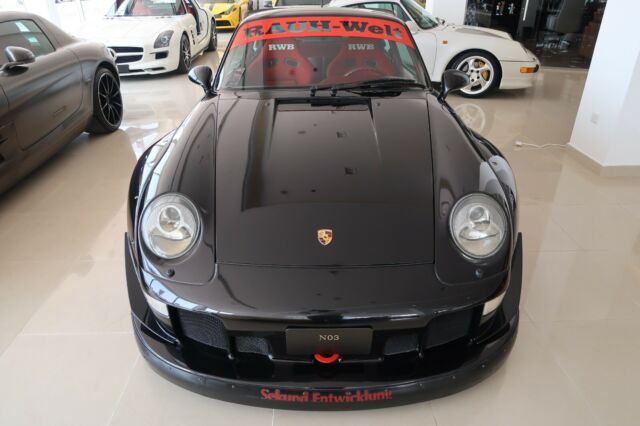 1998 993 Porsche 911 Turbo Rwb Manual For Sale Photos Technical Specifications Description