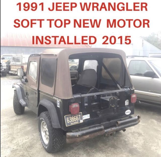 Price Of A Used Jeep Wrangler: 2, Yes TWO 1991 Jeep Wranglers For Sale For The Price Of