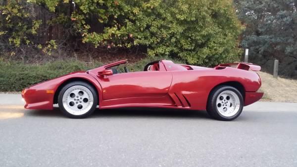 2001 Lamborghini Diablo Best Reproduction Ever 39999