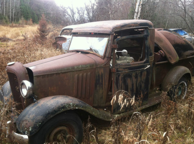 34 CHEVROLET CHEVY PARTS VINTAGE BARN FIND RAT ROD CUSTOM