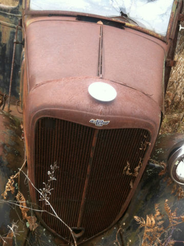 34 CHEVROLET CHEVY PARTS VINTAGE BARN FIND RAT ROD CUSTOM ...
