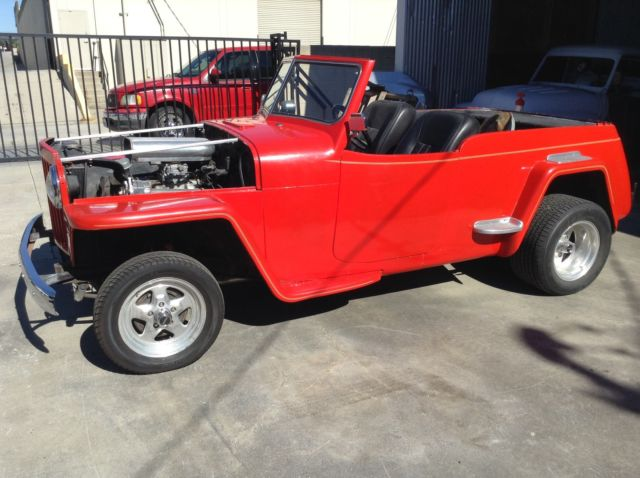 jeep jeepster 48 4950willys jeepster jeephot rodtopless show car rat rod