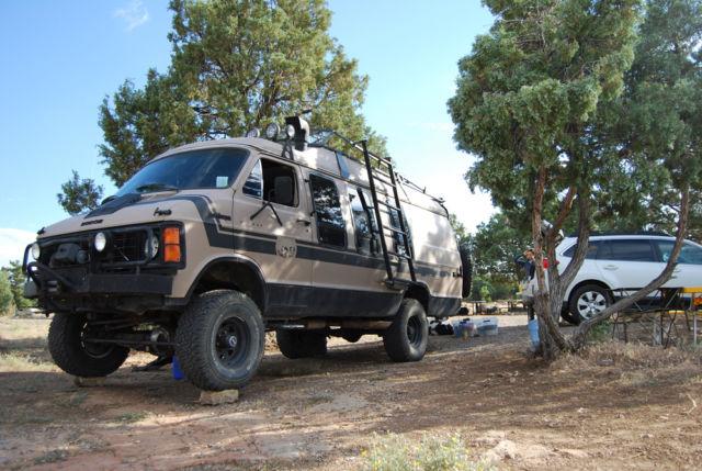 4x4 Van Dodge Ramcharger Van 1984 Four Wheel Drive Van
