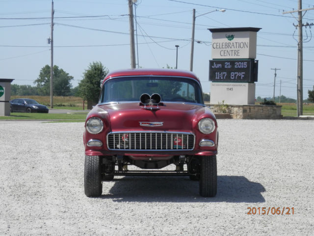 55 Chevy Gasser For Sale In Chase Kansas United States