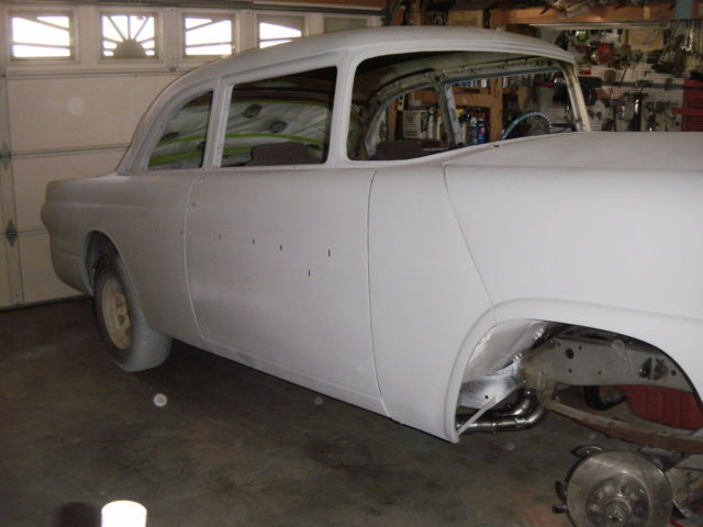 Best Dog Car Seat >> 55 Ford Fairlane club sedan street gasser hotrod drag race for sale in Lancaster, California ...