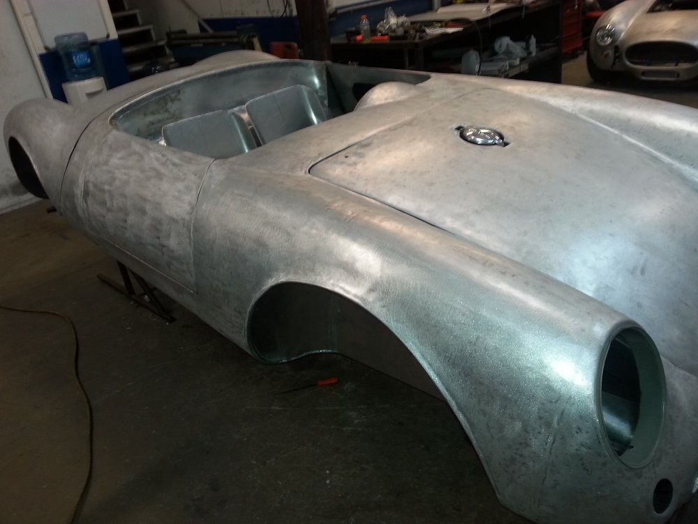 550 Spyder KITCAR ALUMINUM BODY & CHASSIS for sale in Fort ...
