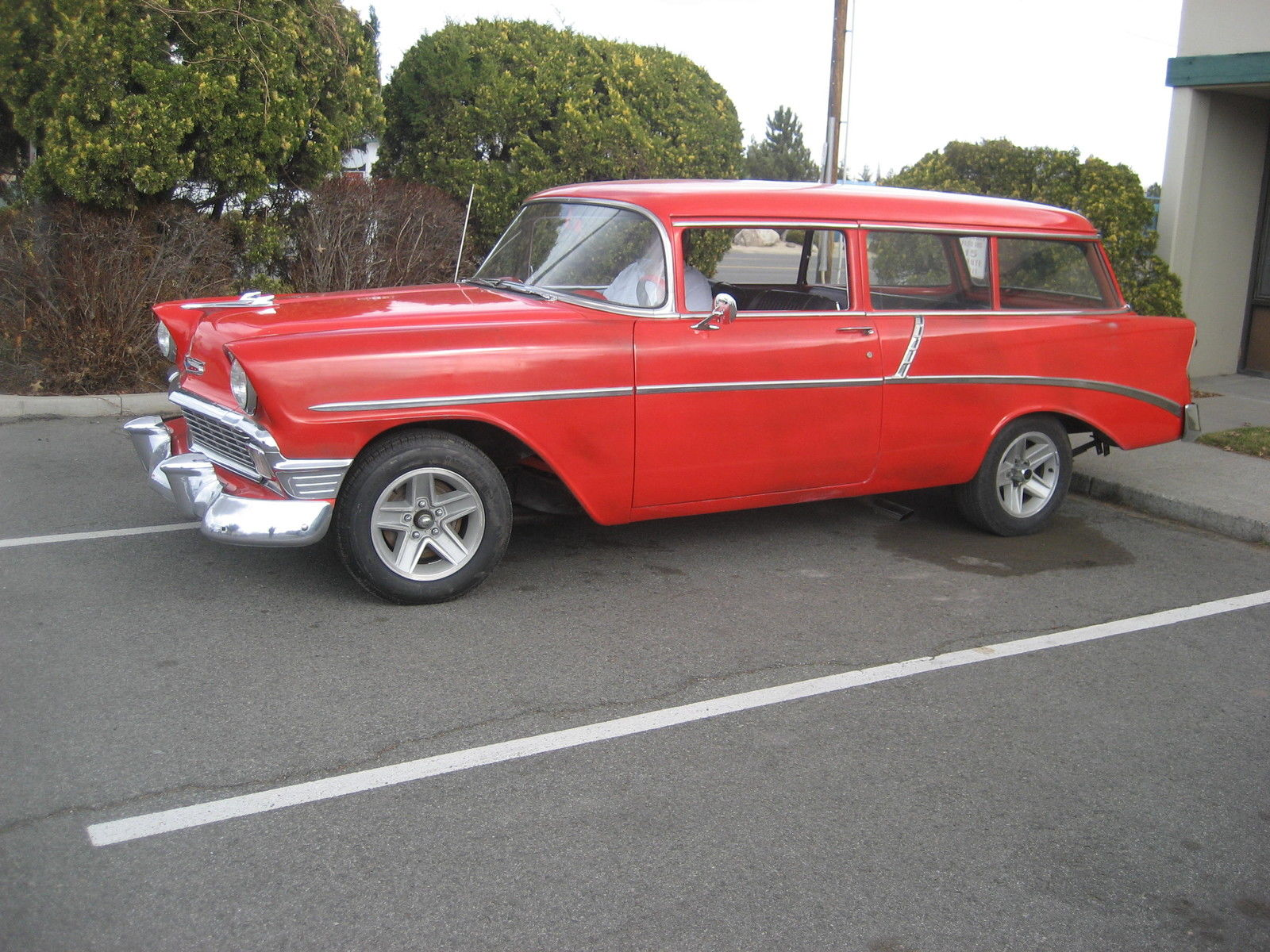 56 Chevy 2 Door Wagon 350motor 4speed For Sale In Reno Nevada United States