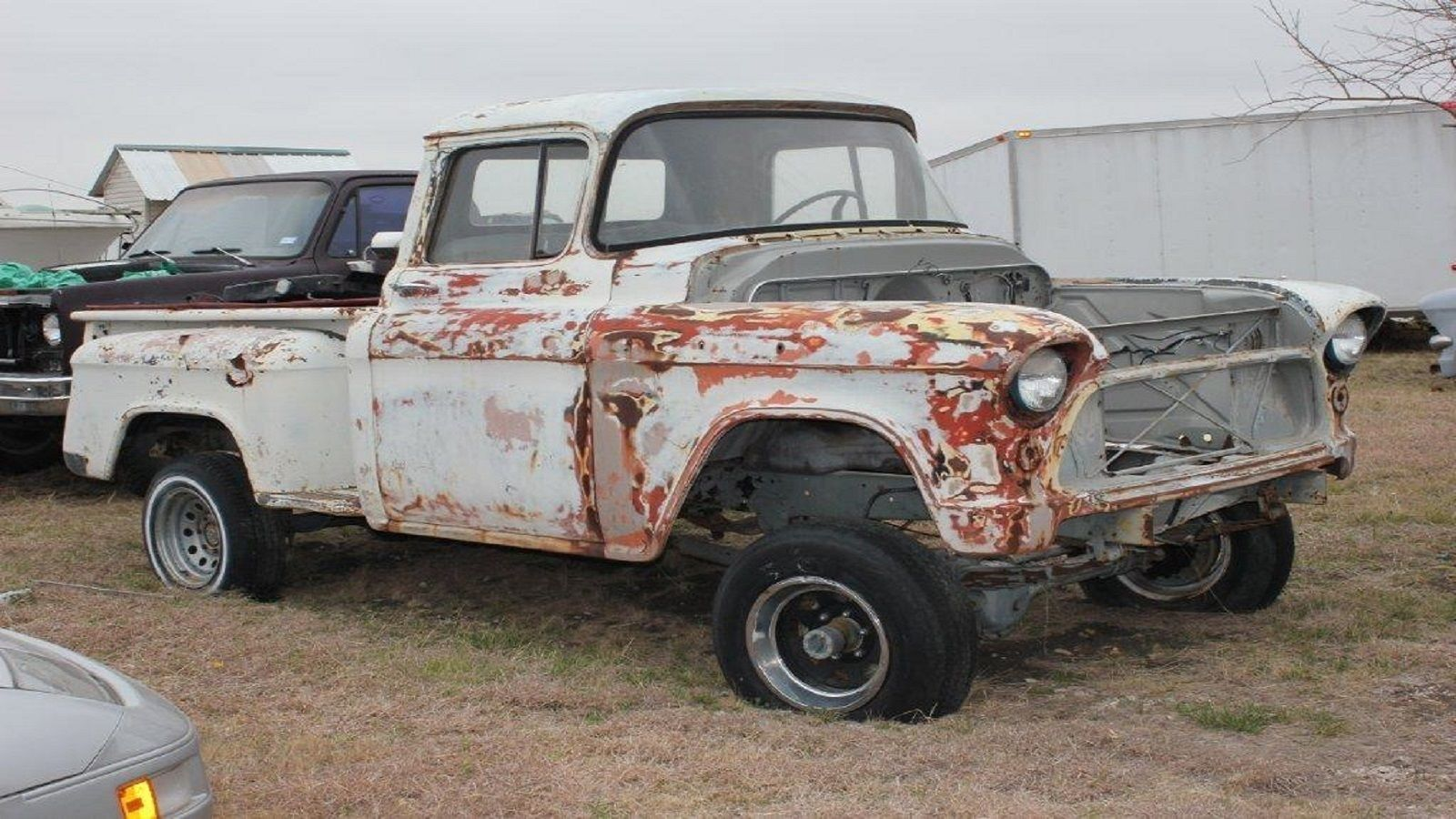 Chevy Napco For Sale >> 57 Chevy 3100 Task Force NAPCO 4x4 Pickup Truck / No Engine for sale in Arlington, Texas, United ...
