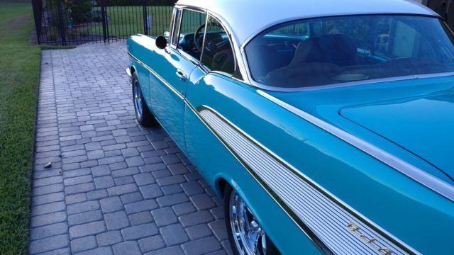 57 Chevy Belair 350 With Thump Er Cam Body Off