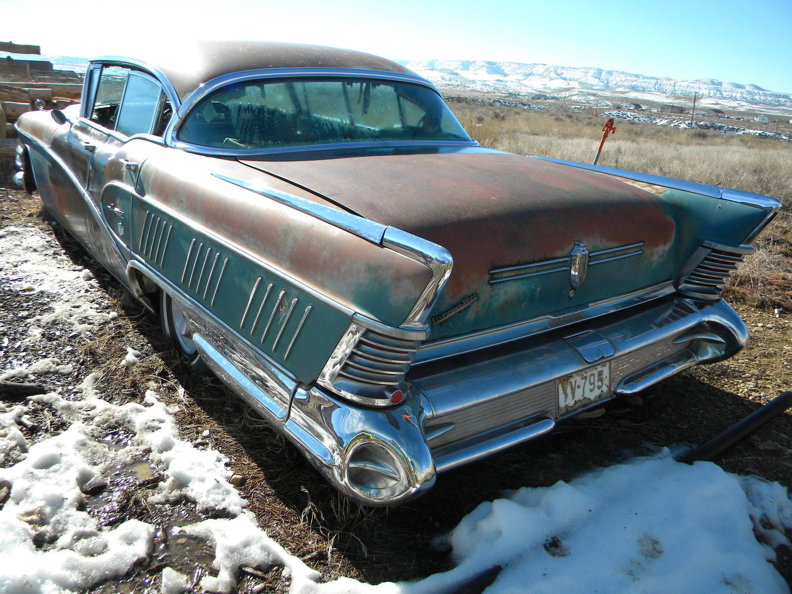 58 BUICK LIMITED 50th Anniversary Special 5571 made CHROME ...