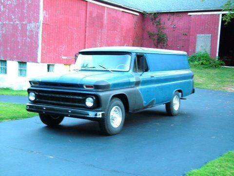 64 chevy panel wagon delivery van truck vintage hot rod 62 63 65 66 pick up for sale in meriden. Black Bedroom Furniture Sets. Home Design Ideas