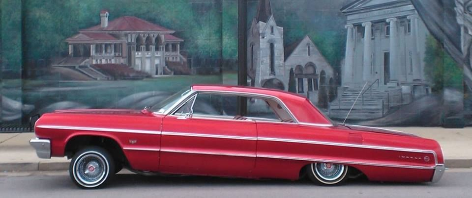 64 Chevy Impala 2door Candy Paint Hydrualics Custom
