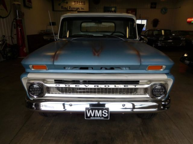 65 Blue C10 Chevy Short Bed Tahoe Fuel Injected 4x4 5 3 Ls