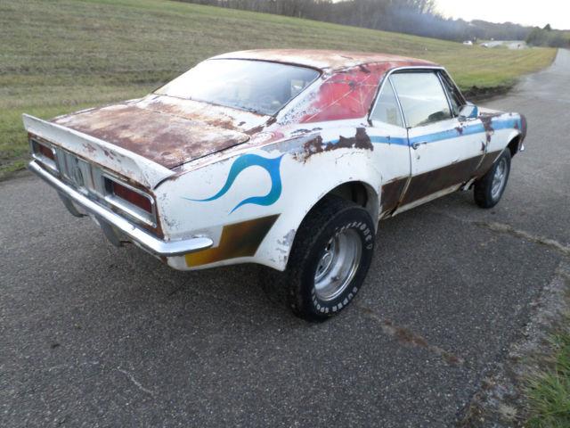 67 camaro rs project parts car ex race barn find rat hot rod gasser custom junk for sale in. Black Bedroom Furniture Sets. Home Design Ideas