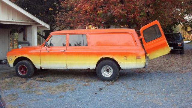 68 chevy panel truck very rare 3 door half panel suburban for 10 door suburban