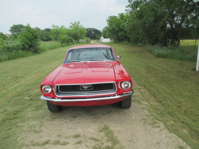 68 mustang fastback for sale in manchaca texas united states. Black Bedroom Furniture Sets. Home Design Ideas