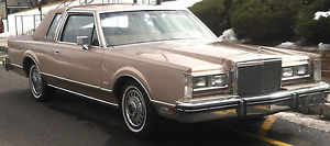 68k 1981 Lincoln Town Car 2 Door Coupe Mark Vi Ltd Grand Marquis
