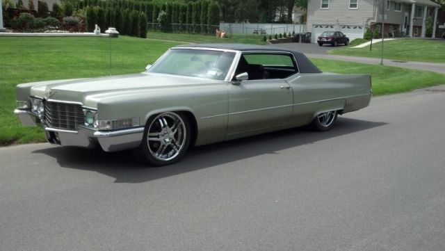 69 cadillac coupe deville lowered 20 wheels for sale. Black Bedroom Furniture Sets. Home Design Ideas
