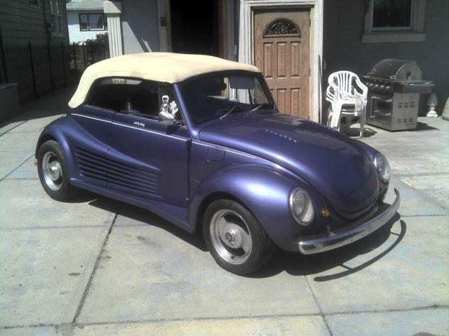custom vw super beetle convertible  sale  technical specifications description