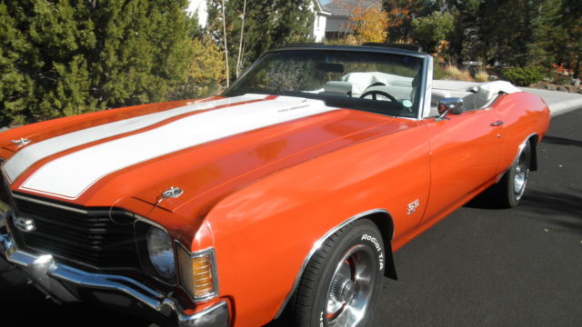 72 CHEVELLE SS CONVERTIBLE with 502 BIG BLOCK engine for ...