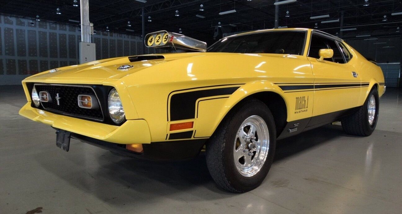 72 Mach 1 ultimate Muscle Car. 535 Horsepower, Show Car, Race Car ...