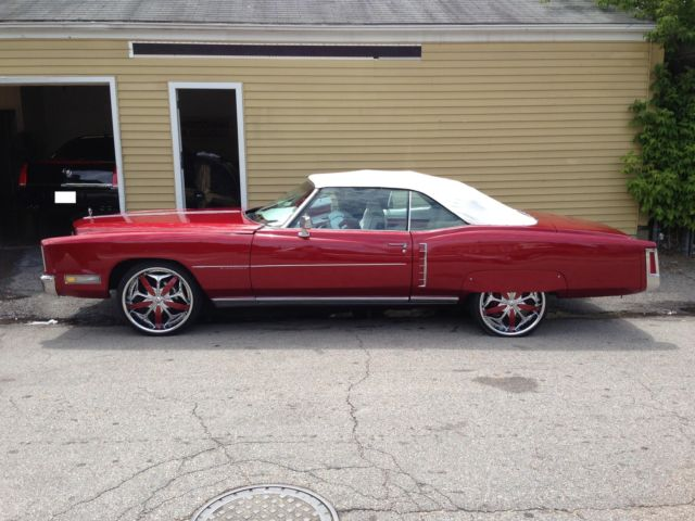 72 Red Convertible With 22 Rims Customer Interior 4 6x9 Spkrs W Base Tube For Sale In