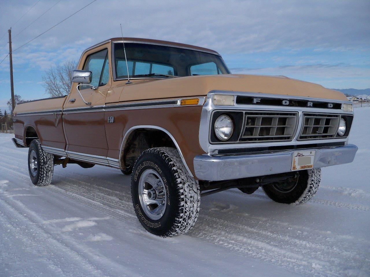 76 Ford F150 4x4 Ranger Original Survivor Factory A C Western High 1970 F 150 Desert Truck