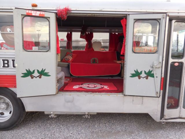 76 Gray Party Bus Ohio State Buckeyes Tail Gating Wagon
