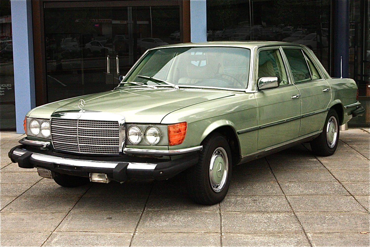 77 mercedes benz 280se green for sale in seattle for Mercedes benz for sale seattle