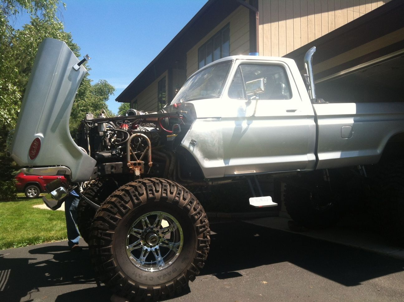 78 Ford F250 Monster Truck Many Extras Brand New Parts 46 Baja 1970 Highboy 4x4 1978 F 250