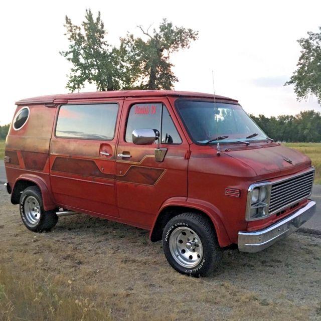 78 Gmc Custom Shorty Boogie Van Survivor Patina Resto For