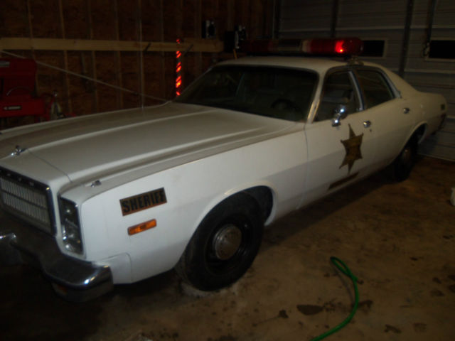 78 plymouth fury rosco car dukes of hazzard police car for sale in fleetwood north carolina. Black Bedroom Furniture Sets. Home Design Ideas