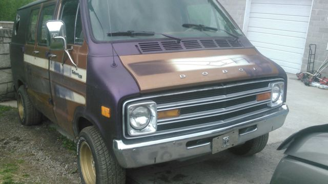 78 Shorty Dodge Van For Sale Photos Technical