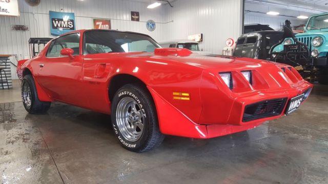 Red Trans Am Firebird Small Block V Auto Power Chrome Ta Wms Bird Show Car