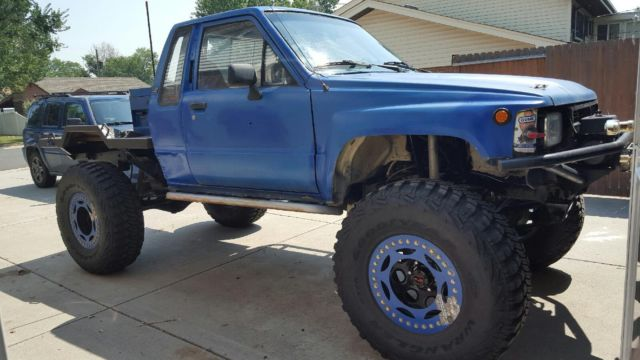 84 toyota truck rock crawler 22re fully built for sale in denver colorado united states. Black Bedroom Furniture Sets. Home Design Ideas