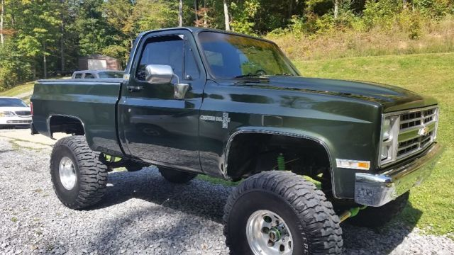 85 Chevy 4x4 The Motor Is A 402 Big Block Fresh Rebuild