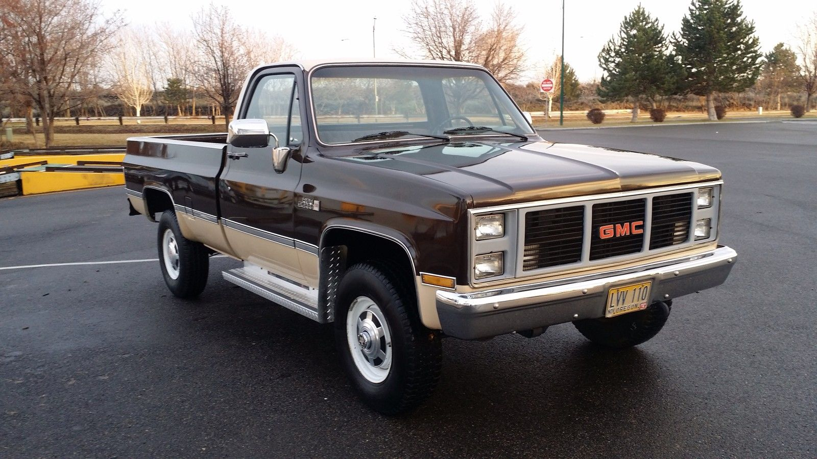 85 gmc 2500 4x4 70 991 thousand original miles one owner vary vary nice truck for sale in. Black Bedroom Furniture Sets. Home Design Ideas